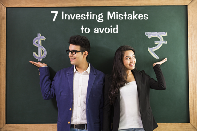 7 investing mistakes to be avoided by Young Investors