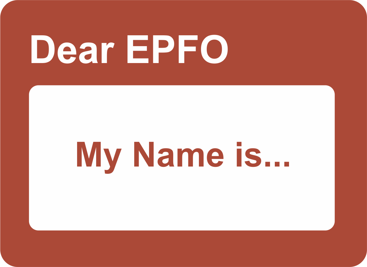 Procedure for name changecorrection in epf account to change your name offline you have to submit a joint application through your employer along with the supporting documents the document that you can aiddatafo Choice Image