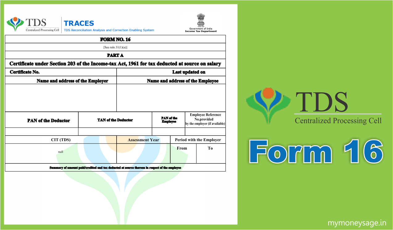 Understanding TDS, Form 16/16A & Form 26AS