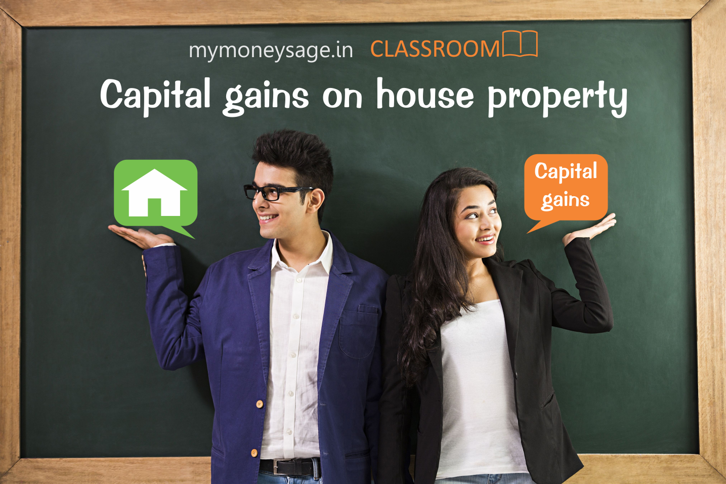 capital gains on house property