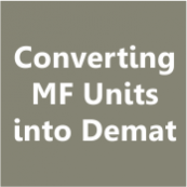 Demat of MF Units- thumb