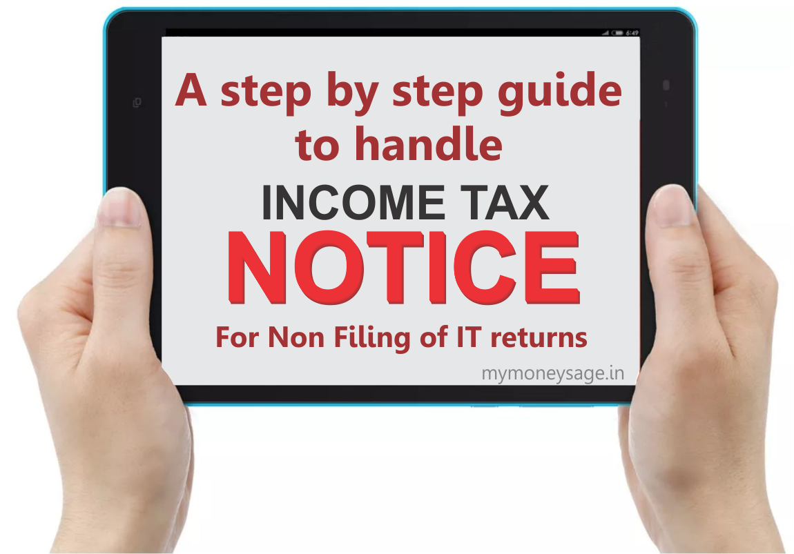 IT Notice for Non-filing of ITR