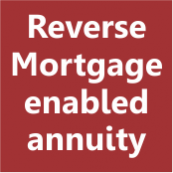 Reverse mortgage enabled annuity