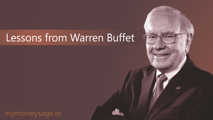 Lessons from Warren Buffet