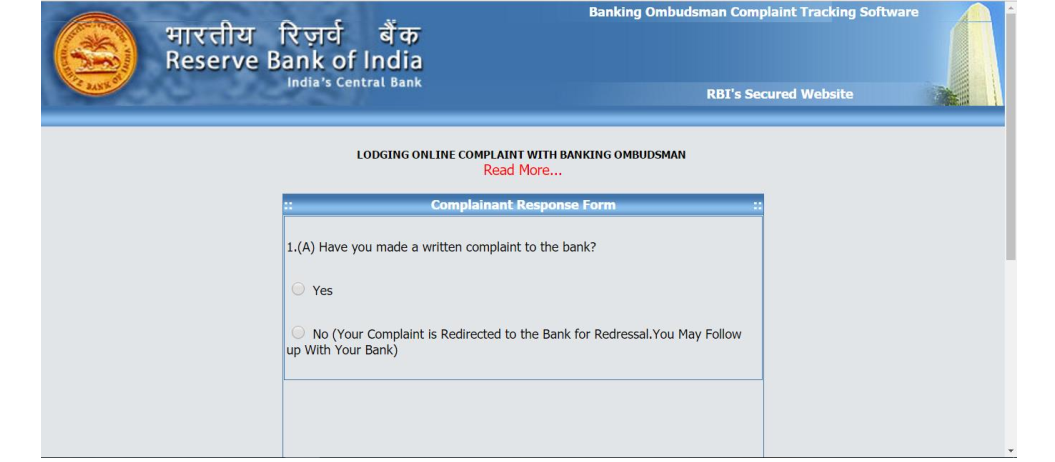 Banking Ombudsman Scheme Here is how to file a complaint against – Sample Banking Ombudsman Complaint Form