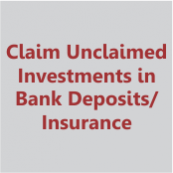 claim unclaimed investments in bank deposits and insurance policies- thumb