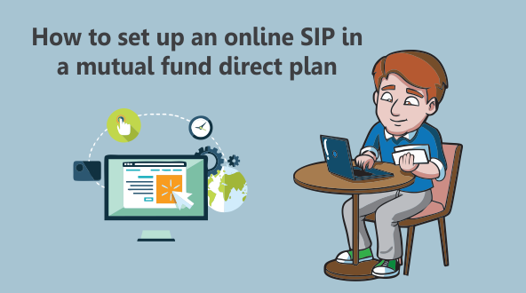How to set up an online SIP in a mutual fund direct plan