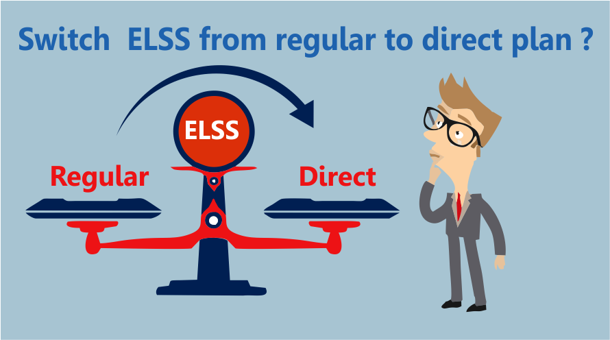 Can I switch regular plan of an ELSS fund to direct plan?