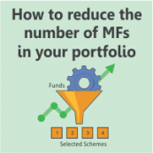 How to reduce the number of mutual funds in your portfolio