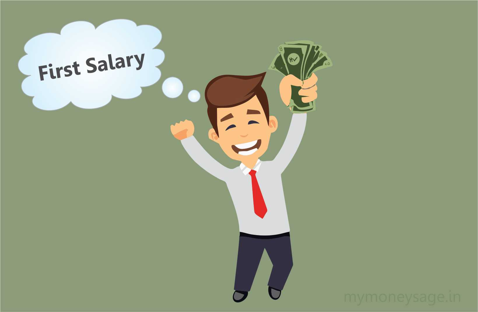 9 Things to Do When You Get your First Salary
